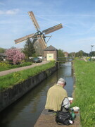 Painting the Dutch Countryside near Oude Zuilan, The Netherlands in 2008