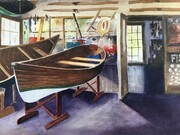 Sunrise Canoe Works - Inside the Shop